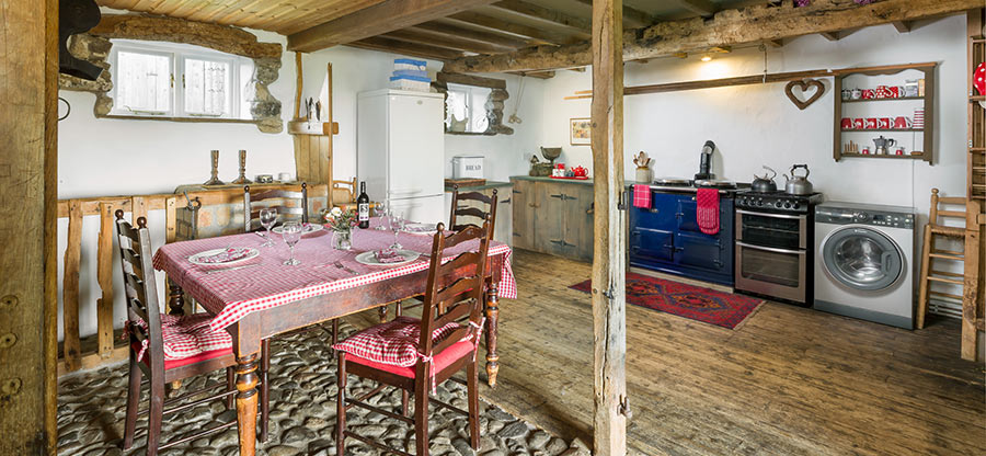Stable Kitchen with Aga