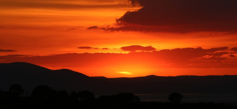 Solway Sunset from High Houses